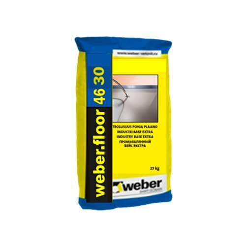 Промышленный износостойкий наливной пол - Weber - Weber.Foor 4630 Industry Lit