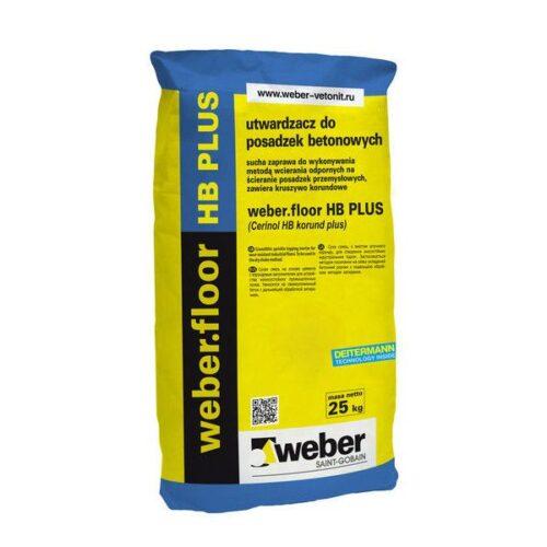 Корундовый упрочнитель бетонных полов Weber - Weber.Floor HB PLUS